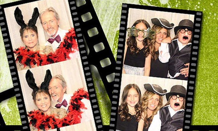STL Fun Photobooth - St. Louis: $450 for Four-Hour Photo-Booth Rental from STL Fun Photobooth ($1,500 Value)