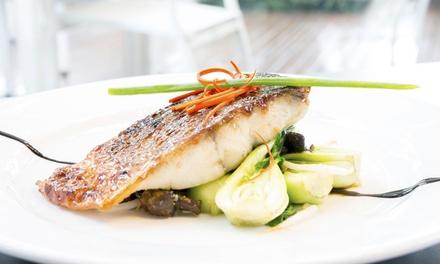 Menu di pesce con vino a 34,90euro