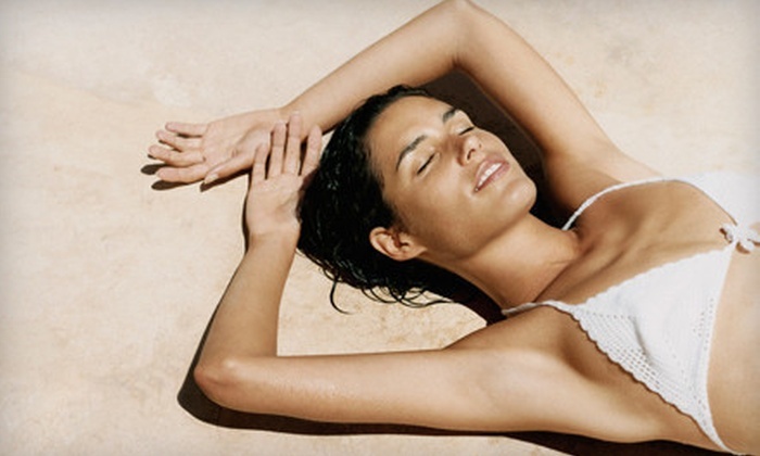 Tan on the Boulevard - Multiple Locations: One-Month of Unlimited UV Tanning or Three Airbrush Tans at Tan on the Boulevard (68% Off)