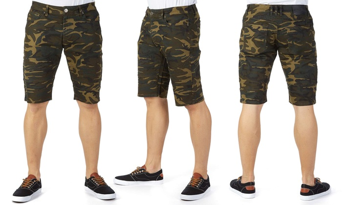 67c725e826 Up To 62% Off on X-Ray Jeans Men's Camo Shorts | Groupon Goods