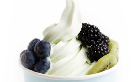 $11 for Four Groupons, Each Good for a 10 Oz. Frozen Yogurt at Chill Yogurt Cafe Saraland ($20 Value)