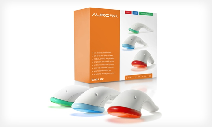 Aurora Light-Therapy Skincare System: $69.99 for a Sirius Beauty Aurora Light-Therapy Skincare System ($149 List Price). Free Shipping and Returns.