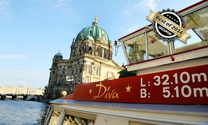 Event- und Charterschifffahrt Berlin: 3-stündige Schiffsrundfahrt für Zwei mit Event- und Charterschifffahrt Berlin (50% sparen*)