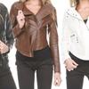 Slim-Fit Women's Biker Jacket