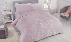 Parure de lit avec motifs