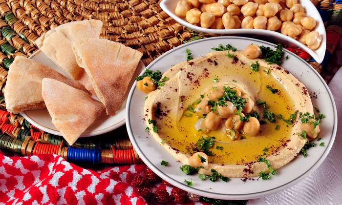 Hummus Place - Multiple Locations: $18 for a Middle Eastern Meal at Hummus Place (Up to $38.50 Value)
