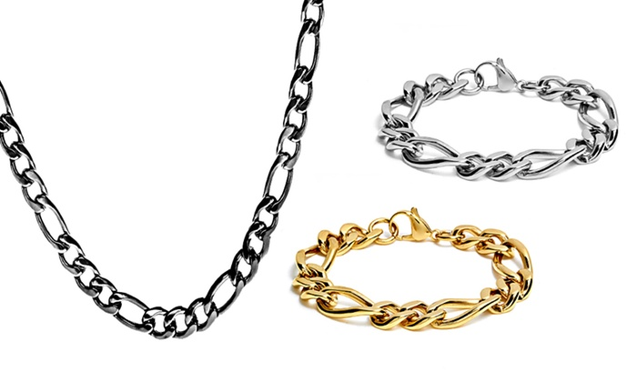 Figaro-Chain Necklaces & Bracelets: Figaro-Chain Necklaces and Bracelets. Multiple Styles from $16.99—$21.99. Free Returns.
