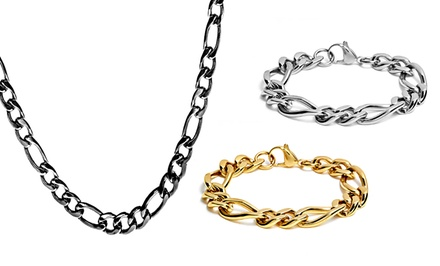 Figaro-Chain Necklaces and Bracelets. Multiple Styles from $16.99—$21.99. Free Returns.