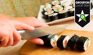Nutt: Curso de elaboración de sushi para una persona por 19,95 € o para dos por 34,95 €