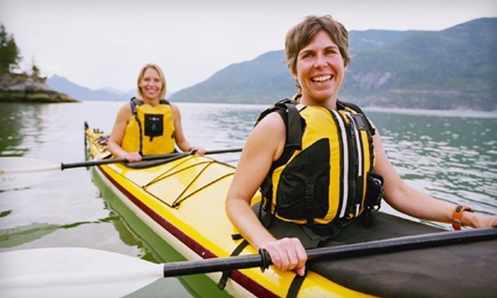 Riva Row Boat House - Town Center: One-Hour Single- or Tandem-Kayak Rental at Riva Row Boat House (Up to 53% Off)