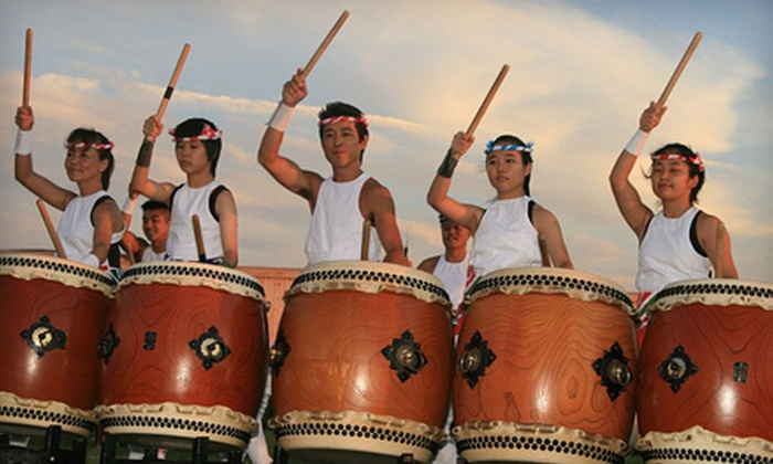 Black Ships Festival - Downtown Newport: $14 for a Taiko Drum Concert for Four at Black Ships Festival at Cardines Field on July 22 at Noon (Up to $28 Value)