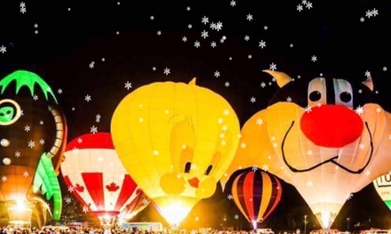 Snow & Glow Christmas Show on December 7-8, at 4 p.m.