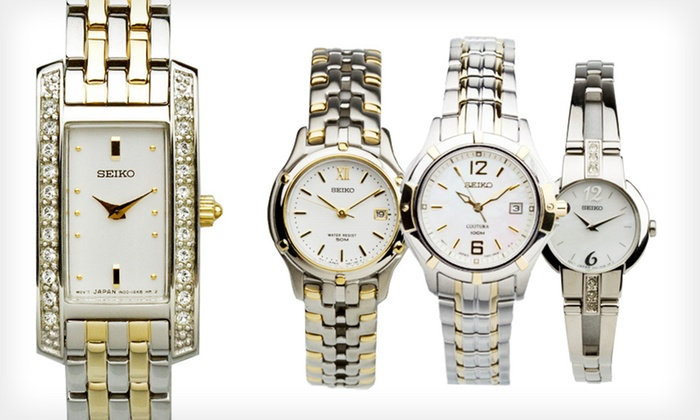 Seiko Women's Watches: Seiko Women's Watches (Up to 77% Off). 8 Styles Available.