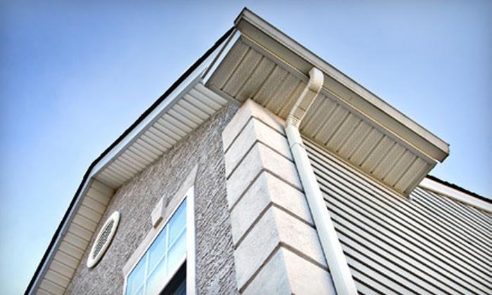 Wojcik Window Washing - Pittsburgh: Up to 100 or 150 Linear Feet of Gutter Cleaning from Wojcik Window Washing (Up to 51% Off)