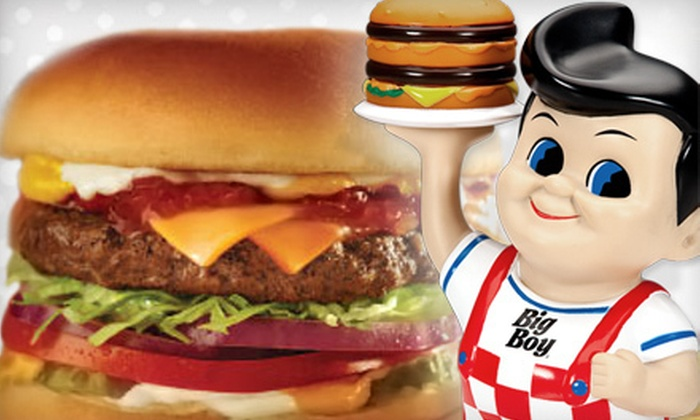 Big Boy - Thurston: $15 Worth of Burgers and Sandwiches
