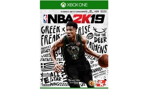 NBA2K19 Digital Download Card for Xbox One