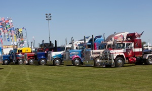 Truckfest South East: Truckfest South East Day Ticket for a Child (£5), Adult (£13) or a Family (£31), 3–4 September at Hop Farm