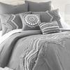 8-Piece Embroidered and Embellished Comforter Sets