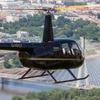 Lot helikopterem nad Warszawą