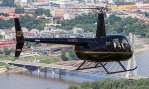 Sky Poland Airlines Sp. z o.o.: Lot widokowy helikopterem nad Warszawą od 249 zł ze Sky Poland (do -36%)