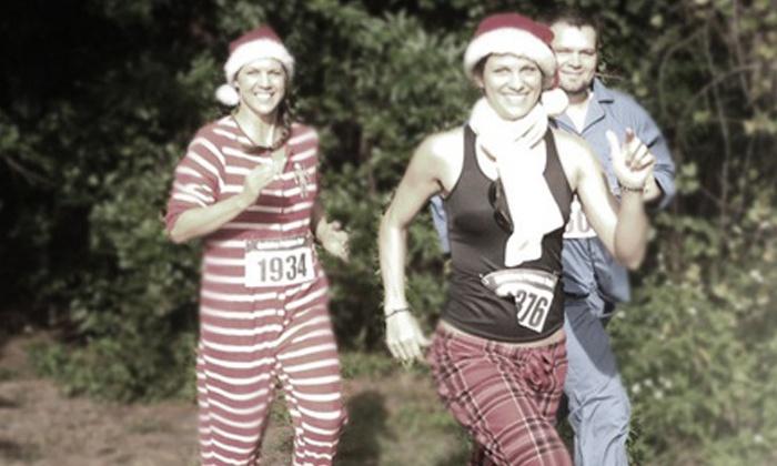 Holiday Pajama Run - Midtown: Holiday Pajama Run 5K for Two or Four on Saturday, December 21, at 9 a.m. at Metropolitan Park (50% Off)