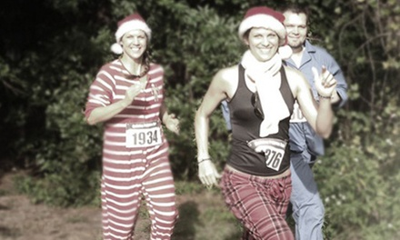 Holiday Pajama Run 5K for Two or Four on Saturday, December 21, at 9 a.m. at Metropolitan Park (50% Off)