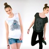 Up to 64% Off Fashion Tees for Women