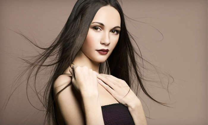 Enlightened Image Salon - Southeast Crossing: Haircut with Options for Partial or Full Highlights at Enlightened Image Salon (Up to 52% Off)