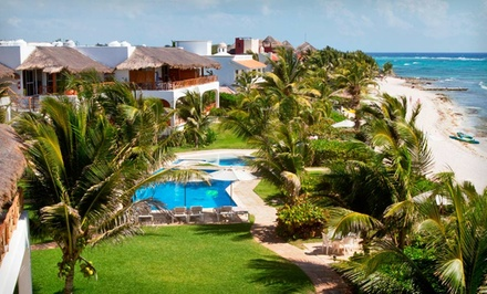Groupon Deal: Four- or Seven-Night Stay with Daily Breakfast at Las Villas Akumal in Riviera Maya, Mexico