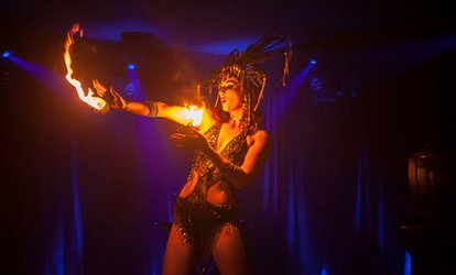 image for Bottomless Cocktails, Dinner and Cabaret Show for Up to Ten at Proud Cabaret Brighton (Up to 58% Off)