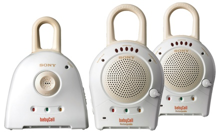 Sony Baby Call Nursery Monitor with One or Two Receivers. Free Returns.