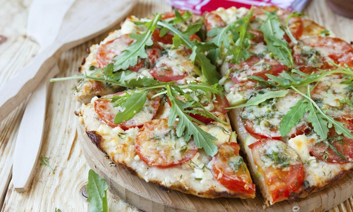 Twine Restaurant - Highland, Stoner Hill: Wine, Pizza, and Salad for Two or Four at Twine Restaurant (Up to 52% Off)