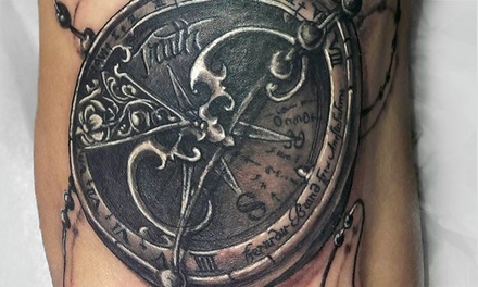 Portland: Two Hours of Custom Tattooing at Aardvark Tattoo Company (50% Off)