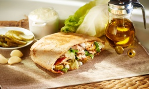 Shawarma Time: Up to AED 120 to Spend on Food and Drinks at Shawarma Time (Up to 54% Off)