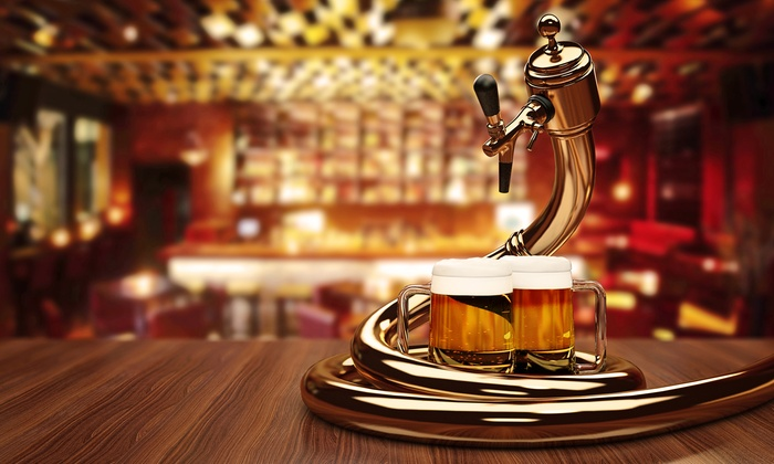 Crossroads at House of Blues Vegas at Mandalay Bay - The Strip: $75 for Four-Course Dinner and Beer Tasting at Crossroads at House of Blues Vegas ($125 Value)