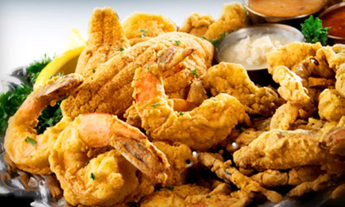 Fish Place - Westgate Park: Cajun-Inspired Seafood at Fish Place in Pearland (Half Off). Three Options Available.