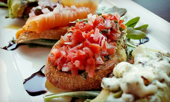 Ten Ten Tapas - Downtown Vancouver: Tapas at Ten Ten Tapas (Up to 53% Off). Two Options Available.
