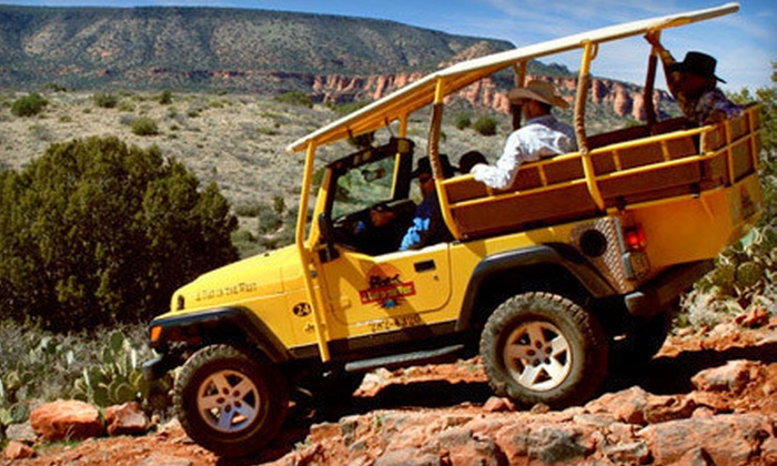 A Day in the West - Sedona: Up to Two-Hour Jeep Tour for One, Two, or Four from A Day in the West in Sedona (Up to 44% Off)
