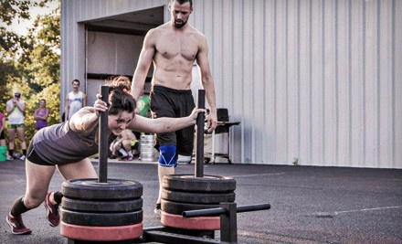 12 CrossFit On-Ramp Classes with Option of One Month of Nutritional Counseling at Crossfit South Bend (Up to 56% Off)