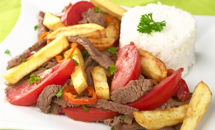 $22 for a Peruvian Dinner for Two with One Appetizer and Two Entrees at Cafe Cusco (Up to $44 Value)
