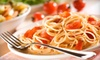 Caffino Ristorante - Liberty Village: Three-Course Italian Dinner for Two or Four with Antipasti and Dessert at Caffino Ristorante (Up to 55% Off)