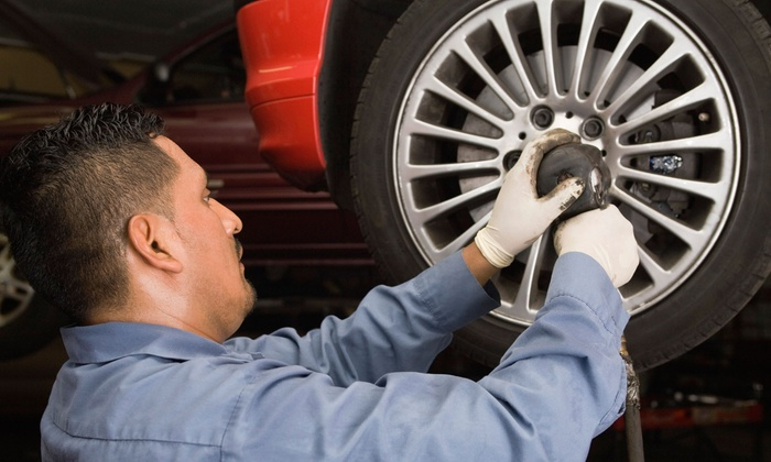 Brake Centers - Lawndale: Auto Brake Installation with Two of Four Disk Pads or Shoes at Brake Centers (50% Off)