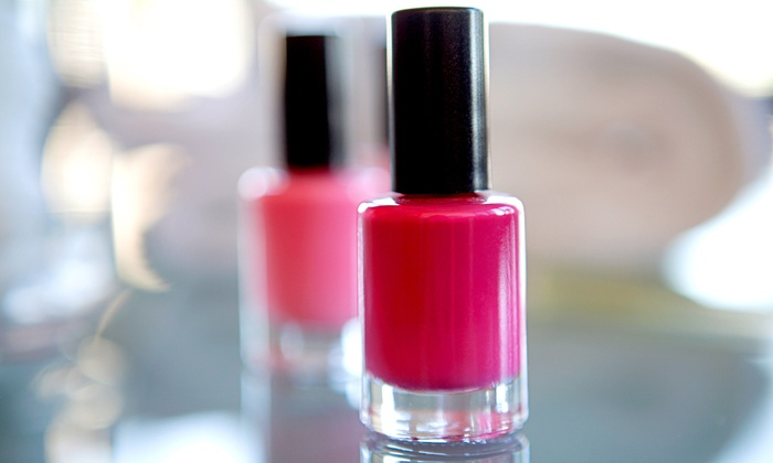 The Natural Nails - Downtown Portland: One or Two Mani-Pedis at The Natural Nails (Up to 51% Off)