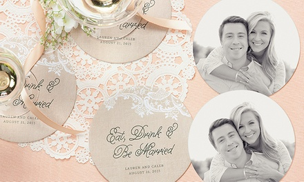 Personalized Labels, Tags, Coasters, and Cards from Evermine (Up to 58% Off). Three Options Available.