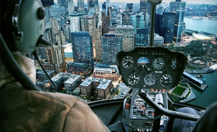 $195 for a 30-Minute Private Tour of New York by Airplane for up to Three from PegasusFlight.com ($393 Value)