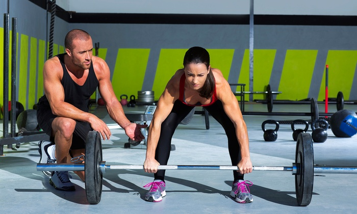 Fitness Incorporated - Multiple Locations: Four Personal-Training Sessions or Four-Week Online Fitness Program from Fitness Incorporated (83% Off)