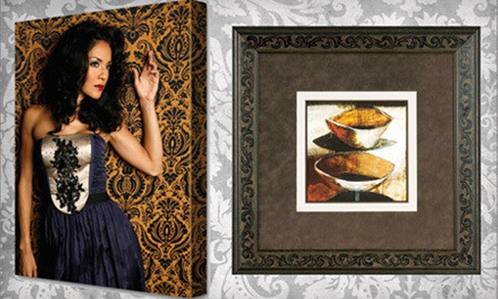 Museum Quality Framing - Camarillo: Canvas Printing or Custom Framing at Museum Quality Framing (Up to 71% Off). Two Options Available.