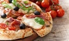 Menu pizza da Trattoria La Fiorentina