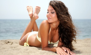 Back from the Beach Spray Tan: One, Three, or Five Spray Tans or Six Months of Unlimited Spray Tanning at Back from the Beach Spray Tan (Up to 88% Off)