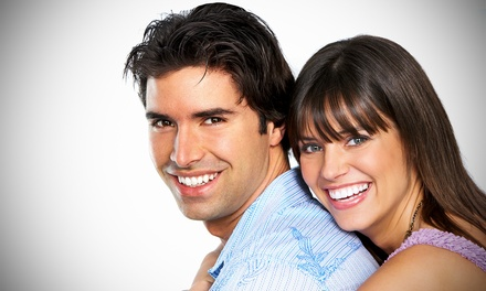 Full Service Teeth Whitening or Express - Touch up Teeth Whitening at Magic Smile (Up to 65% Off)